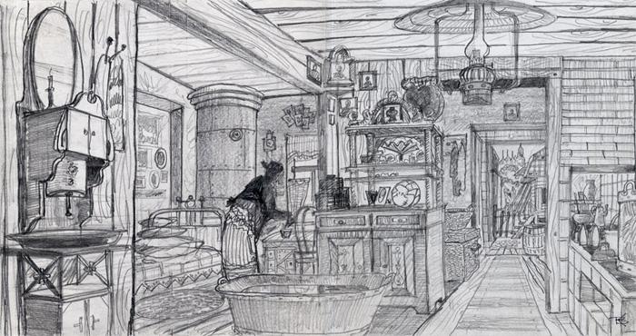 Комната бабушки Шуста