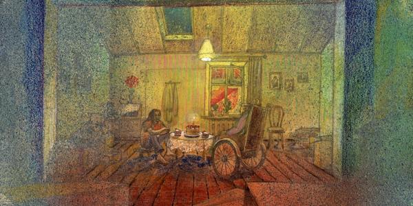 Объект - съемная квартира бабушки