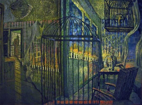 Балкон одинокой женщины