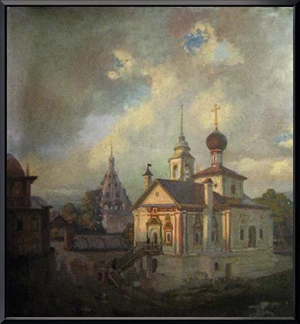 «Коломенский монастырь» 75х80 см.